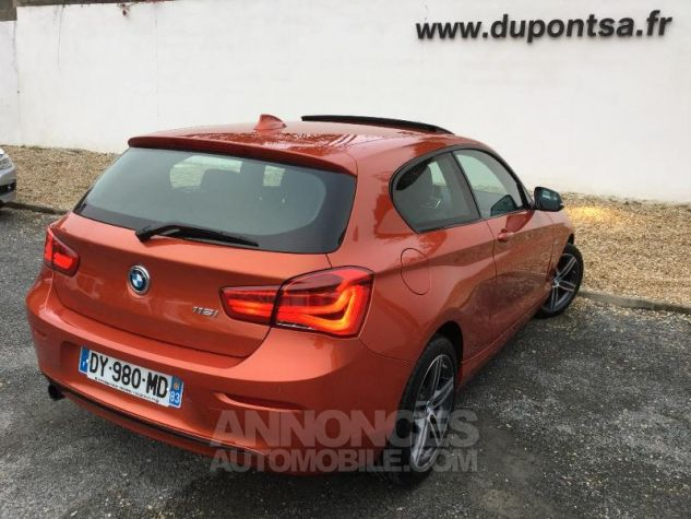 BMW Série 1 116i 109ch Sport 3p ORANGE Occasion - 1