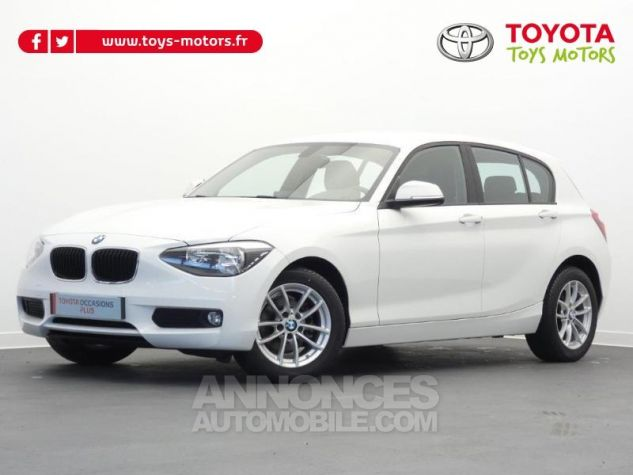 BMW Série 1 116i 136ch Lounge 5p BLANC Occasion - 0