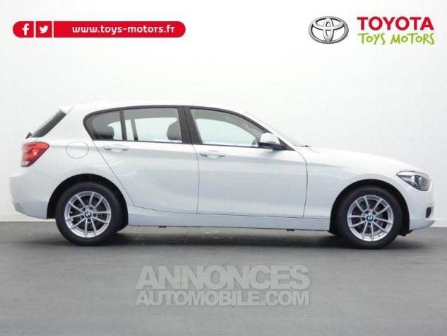 BMW Série 1 116i 136ch Lounge 5p BLANC Occasion - 1