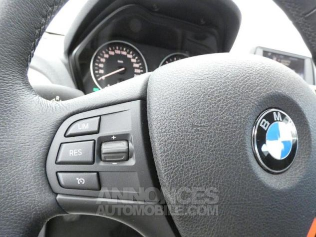 BMW Série 1 116i 136ch Lounge 5p BLANC Occasion - 8