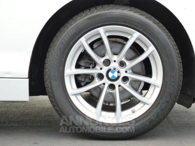 BMW Série 1 116i 136ch Lounge 5p BLANC Occasion - 9