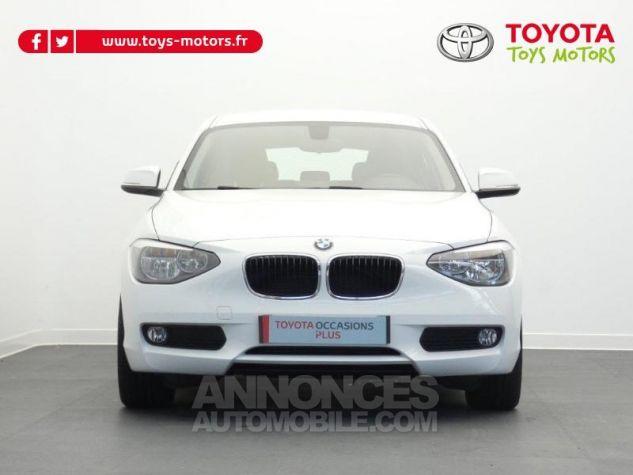 BMW Série 1 116i 136ch Lounge 5p BLANC Occasion - 10