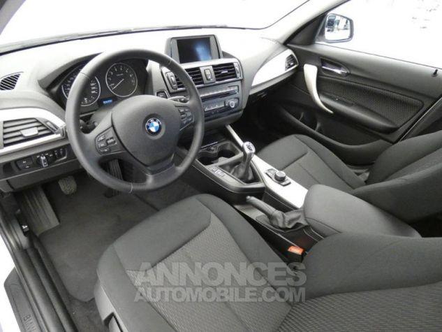 BMW Série 1 116i 136ch Lounge 5p BLANC Occasion - 13