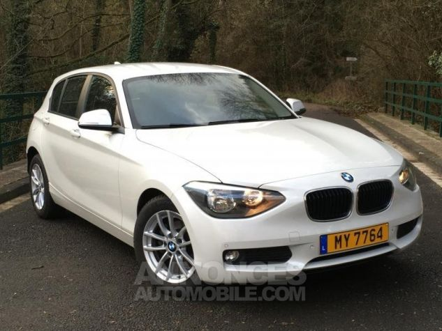 BMW Série 1 118d 143 F20 LOUNGE BLANC Occasion - 0