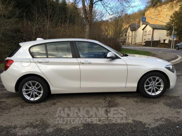 BMW Série 1 118d 143 F20 LOUNGE BLANC Occasion - 1