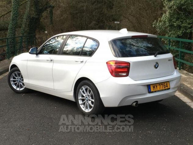 BMW Série 1 118d 143 F20 LOUNGE BLANC Occasion - 2
