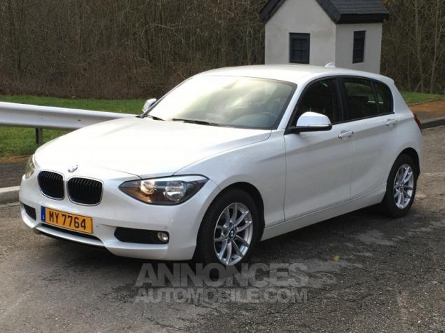 BMW Série 1 118d 143 F20 LOUNGE BLANC Occasion - 3