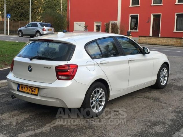 BMW Série 1 118d 143 F20 LOUNGE BLANC Occasion - 4