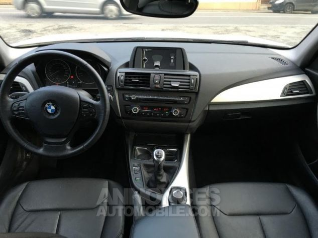 BMW Série 1 118d 143 F20 LOUNGE BLANC Occasion - 7