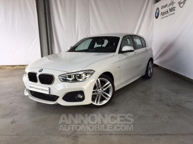 BMW Série 1 118d 150ch M Sport 5p Alpinweiss uni Occasion - 0