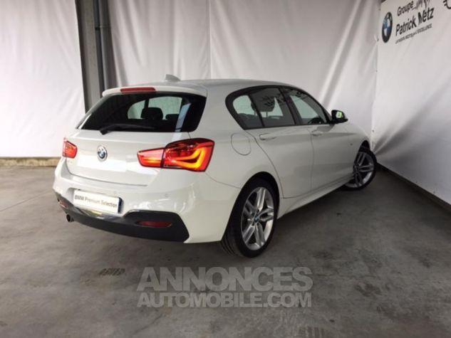 BMW Série 1 118d 150ch M Sport 5p Alpinweiss uni Occasion - 1