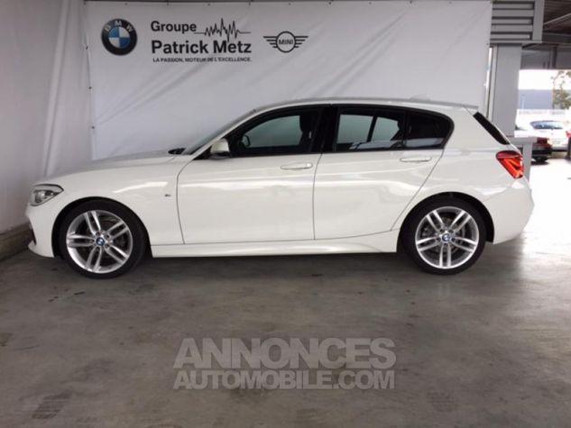 BMW Série 1 118d 150ch M Sport 5p Alpinweiss uni Occasion - 3