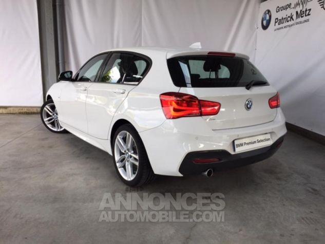 BMW Série 1 118d 150ch M Sport 5p Alpinweiss uni Occasion - 4