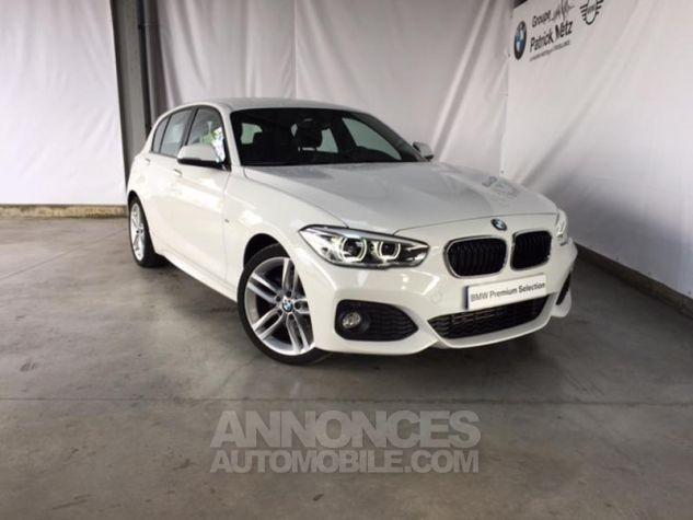 BMW Série 1 118d 150ch M Sport 5p Alpinweiss uni Occasion - 5