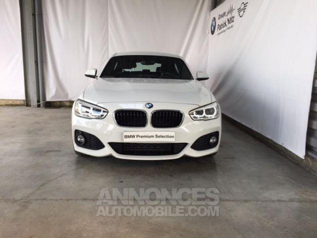 BMW Série 1 118d 150ch M Sport 5p Alpinweiss uni Occasion - 6