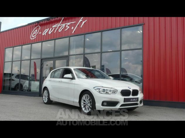 BMW Série 1 118dA 150ch Lounge 5p Blanc Nacre Occasion - 0
