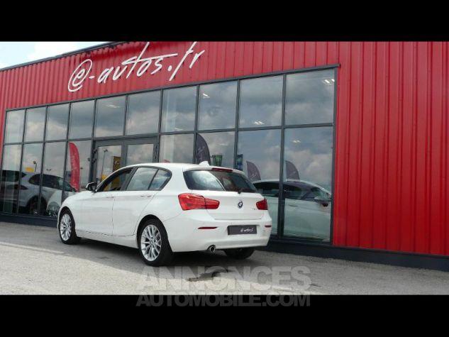 BMW Série 1 118dA 150ch Lounge 5p Blanc Nacre Occasion - 1