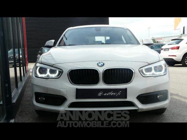 BMW Série 1 118dA 150ch Lounge 5p Blanc Nacre Occasion - 2