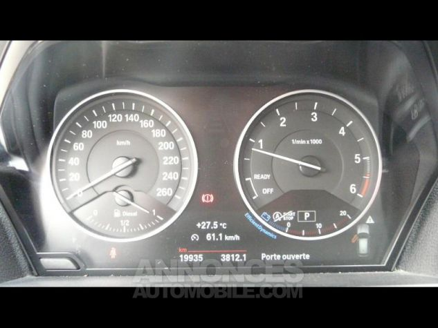 BMW Série 1 118dA 150ch Lounge 5p Blanc Nacre Occasion - 4