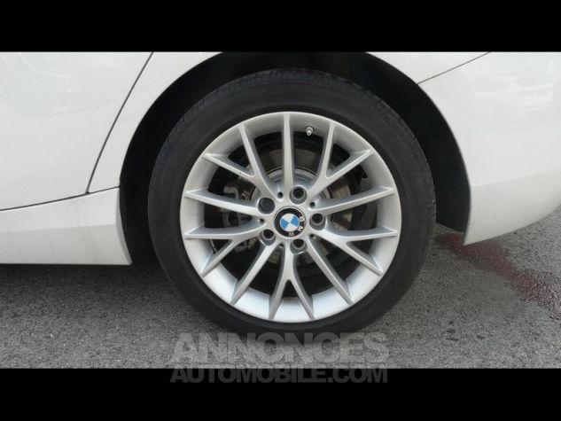 BMW Série 1 118dA 150ch Lounge 5p Blanc Nacre Occasion - 8
