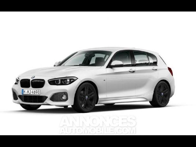BMW Série 1 118dA 150ch M Sport 5p Alpinweiss uni Occasion - 1