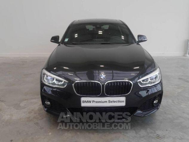 BMW Série 1 118dA 150ch M Sport 5p Saphirschwarz Occasion - 4