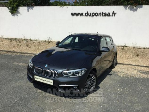 BMW Série 1 118dA 150ch UrbanChic 5p Euro6d-T Mineralgrau métallisée Occasion - 0