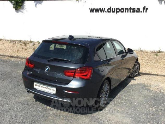 BMW Série 1 118dA 150ch UrbanChic 5p Euro6d-T Mineralgrau métallisée Occasion - 1
