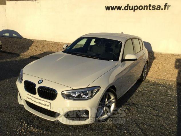 BMW Série 1 118iA 136ch M Sport 5p BLANC Occasion - 0