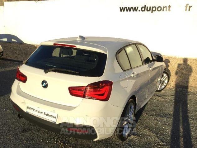 BMW Série 1 118iA 136ch M Sport 5p BLANC Occasion - 1