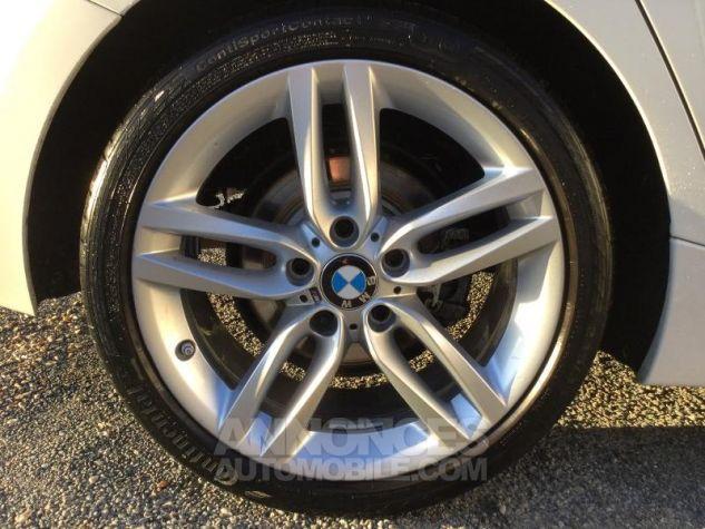 BMW Série 1 118iA 136ch M Sport 5p BLANC Occasion - 4