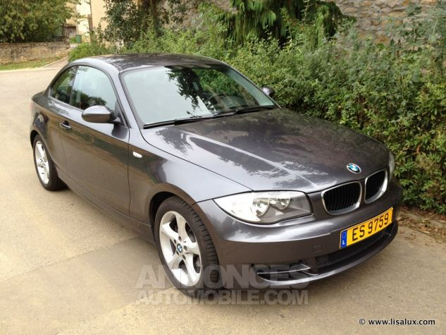 BMW Série 1 120 D coupé Luxe Cuir noir Occasion - 0