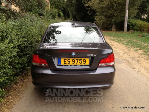 BMW Série 1 120 D coupé Luxe Cuir noir Occasion - 2