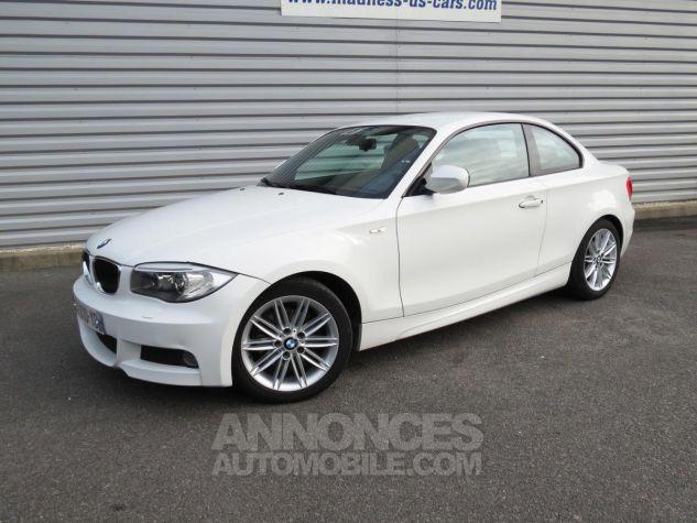 BMW Série 1  120D Coupé Edition M Sport 2013 Blanc Occasion - 1