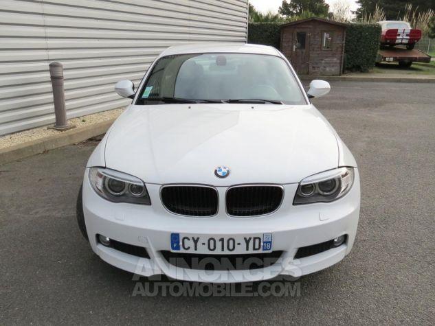 BMW Série 1  120D Coupé Edition M Sport 2013 Blanc Occasion - 2