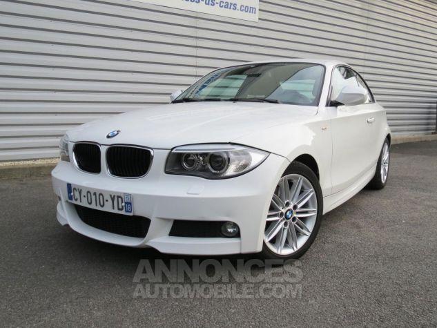 BMW Série 1  120D Coupé Edition M Sport 2013 Blanc Occasion - 3
