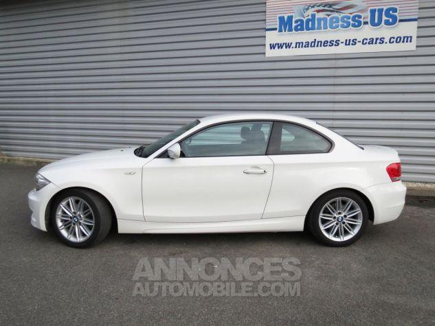 BMW Série 1  120D Coupé Edition M Sport 2013 Blanc Occasion - 4
