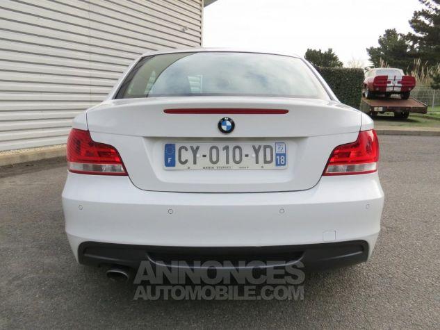 BMW Série 1  120D Coupé Edition M Sport 2013 Blanc Occasion - 6