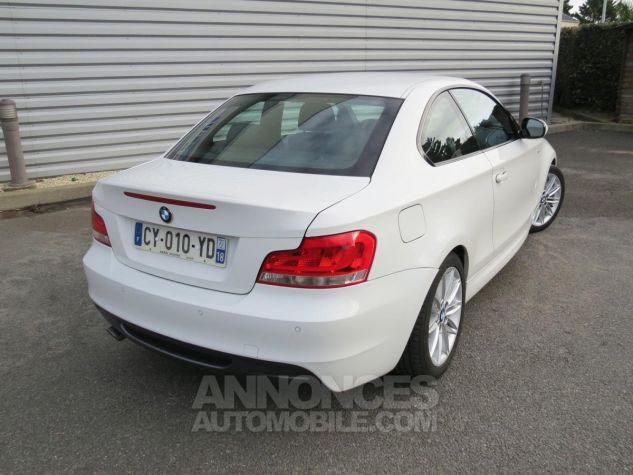 BMW Série 1  120D Coupé Edition M Sport 2013 Blanc Occasion - 7