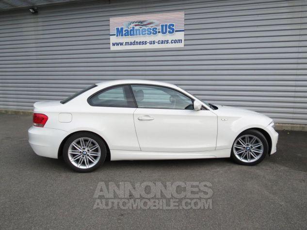 BMW Série 1  120D Coupé Edition M Sport 2013 Blanc Occasion - 8