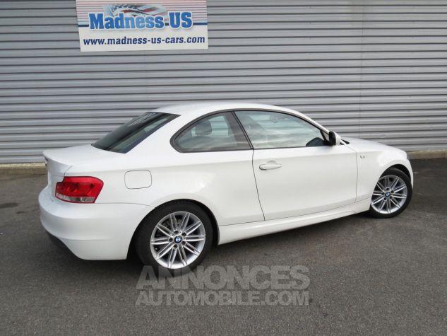 BMW Série 1  120D Coupé Edition M Sport 2013 Blanc Occasion - 9