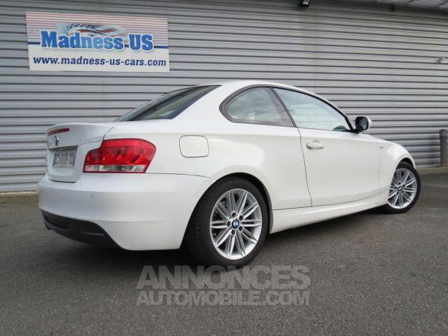 BMW Série 1  120D Coupé Edition M Sport 2013 Blanc Occasion - 10