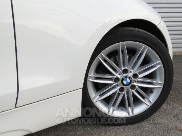 BMW Série 1  120D Coupé Edition M Sport 2013 Blanc Occasion - 11