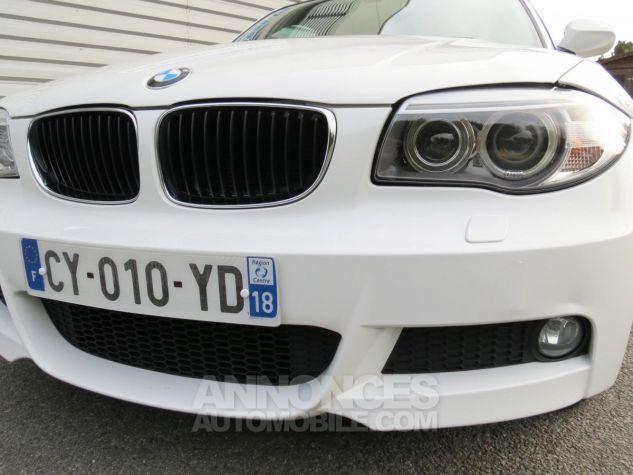 BMW Série 1  120D Coupé Edition M Sport 2013 Blanc Occasion - 12