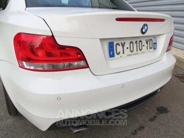 BMW Série 1  120D Coupé Edition M Sport 2013 Blanc Occasion - 13