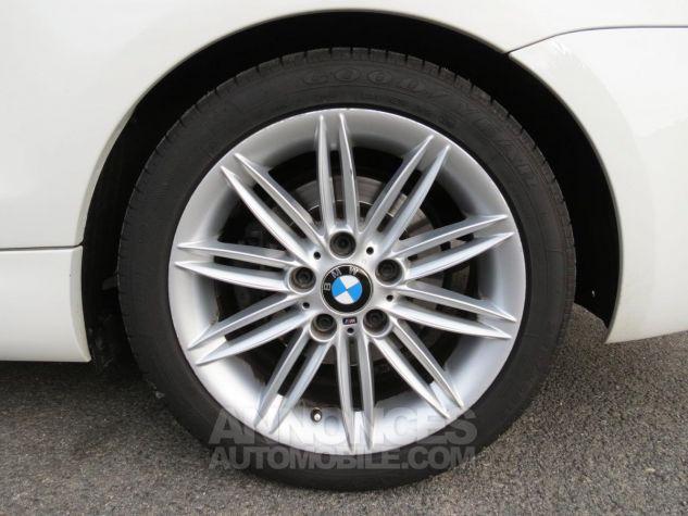 BMW Série 1  120D Coupé Edition M Sport 2013 Blanc Occasion - 14