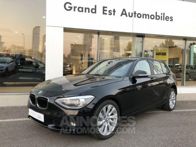 BMW Série 1 120dA 184ch Executive 5p Noir Occasion - 0