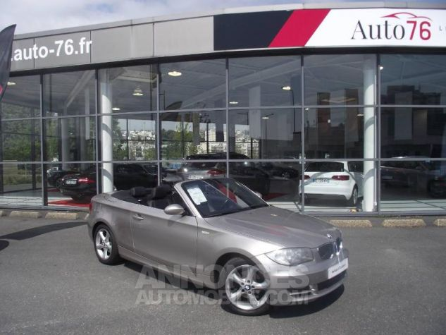 BMW Série 1 120i 170ch Luxe Beige Occasion - 0