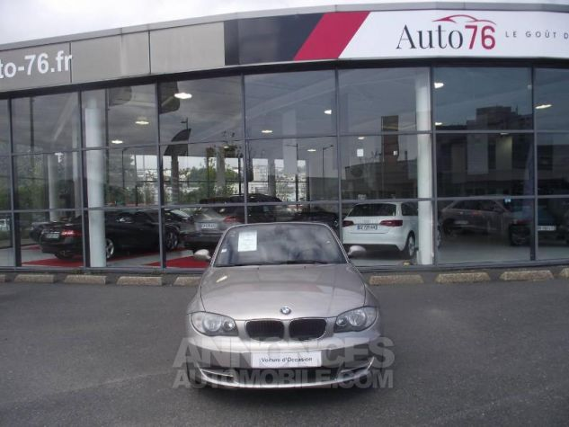 BMW Série 1 120i 170ch Luxe Beige Occasion - 1