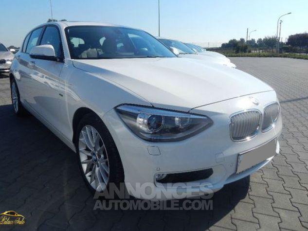 BMW Série 1 BMW 118d Urban Line 143cv Toit ouvrant Blanc Alpin Occasion - 0